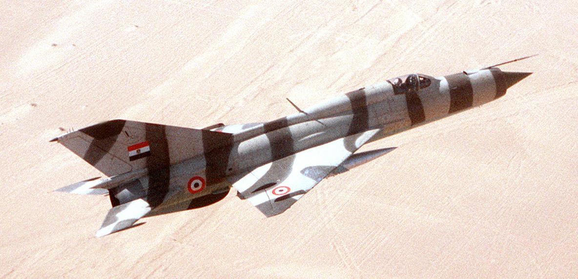 Египетский МиГ-21