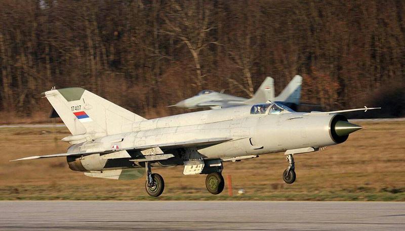 МиГ-21бис ВВС Сербии