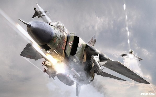 МиГ-23 - фронтовой истребитель