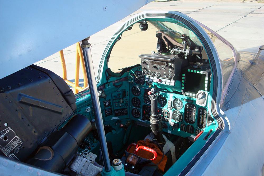 Кабина МиГ-31БМ