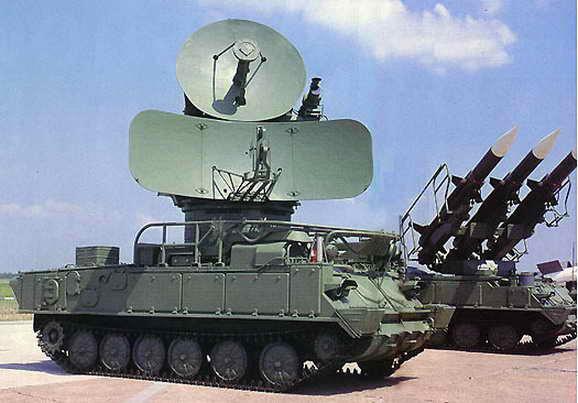 Cамоходная установка разведки и наведения 1С91