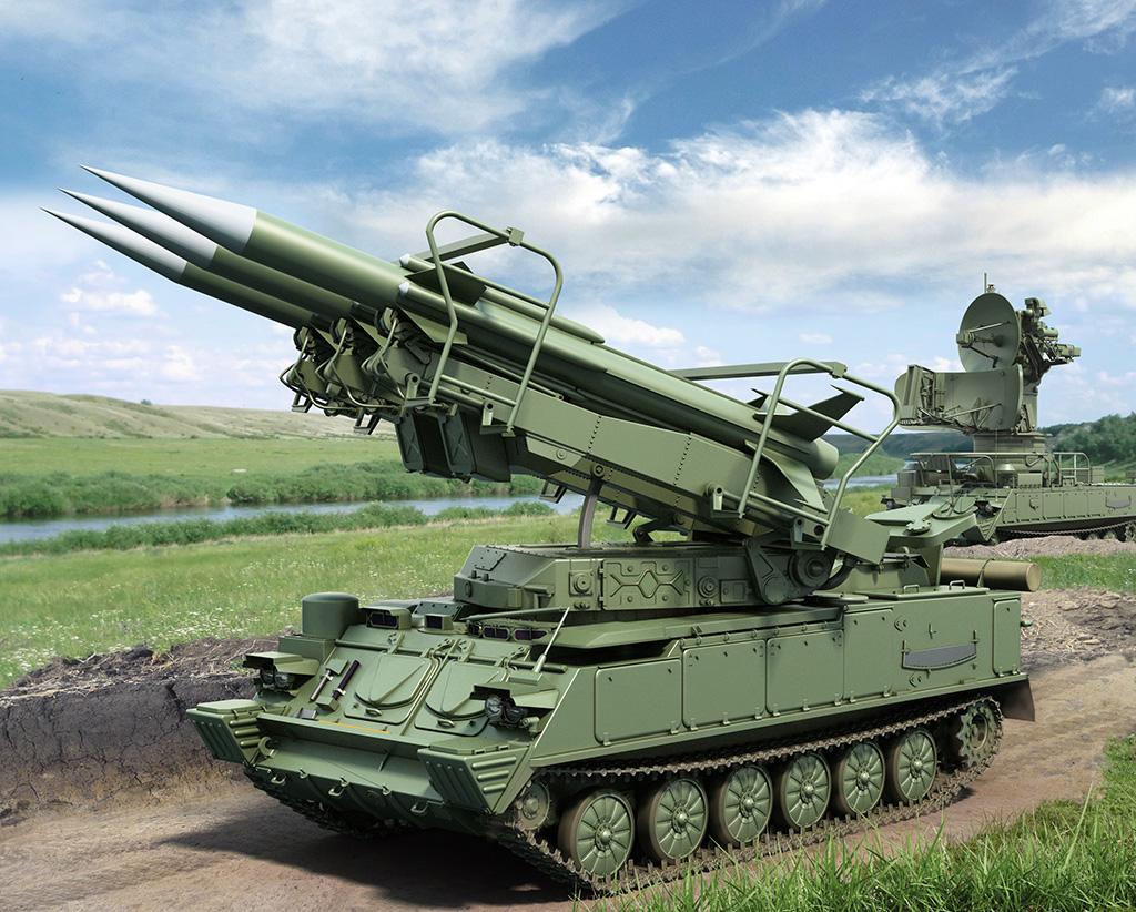 ЗРК 2К12 КУБ (экспортный вариант КВАДРАТ)