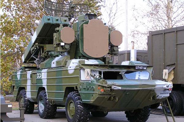 'ОСА-АКМ' зенитный ракетный комплекс