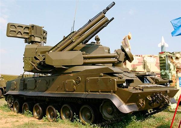 2С6М 'Тунгуска-М' - зенитный пушечно-ракетный комплекс