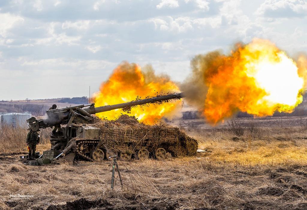 САУ 2С5 «Гиацинт-С» - самоходная пушка калибр 152-мм