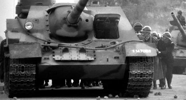 Су-100 армии Алжира
