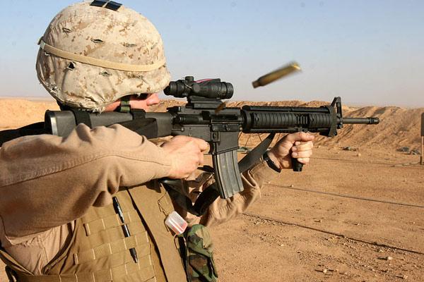 Автоматическая винтовка М16 (AR 15)