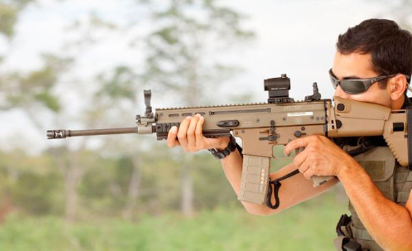 FN SCAR (L, H) - штурмовая винтовка (Бельгия, США)