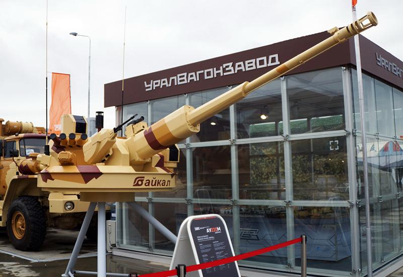 АУ220М «Байкал» — российский необитаемый боевой модуль с 57-мм пушкой разработки ЦНИИ «Буревестник».