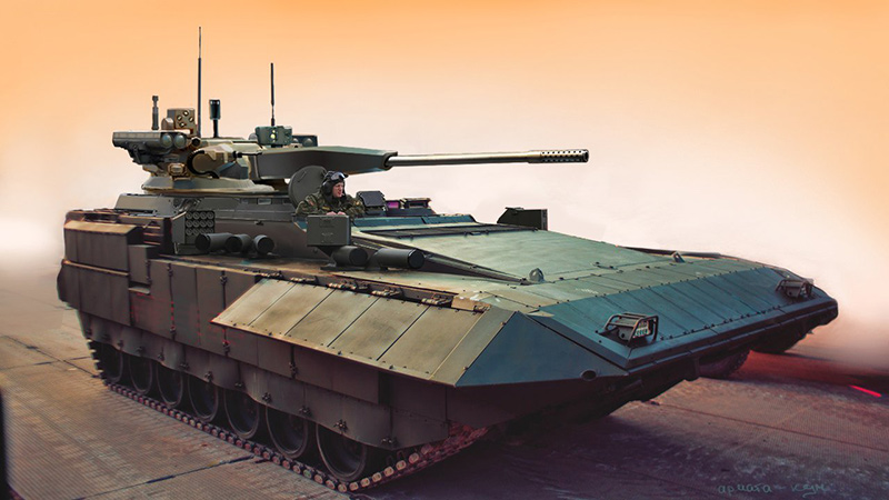 БМП Т-15 - боевая машина пехоты