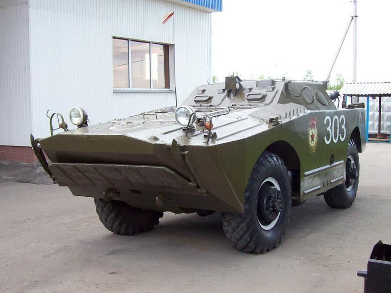 БРДМ-1 - бронированная разведывательно-дозорная машина