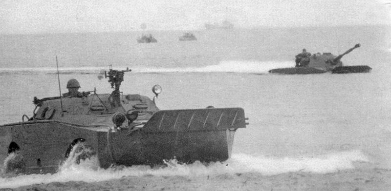БРДМ-1 морской пехоты