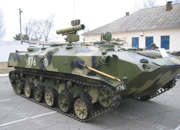 БТР-Д - авиадесантный бронетранспортер