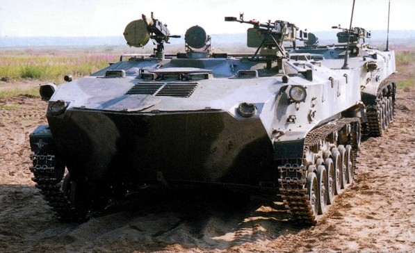БТР-Д с 12,7-мм пулеметом «Корд» и 30-мм автоматическим гранатометом АГС-30