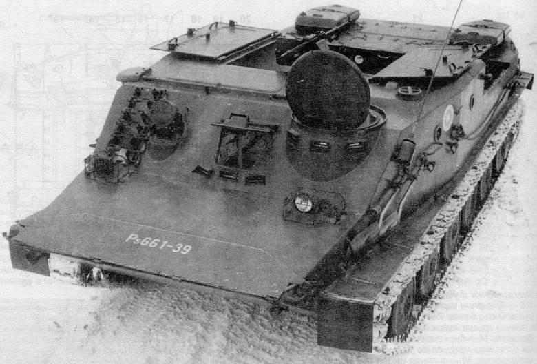 БТР-50ПК финской армии