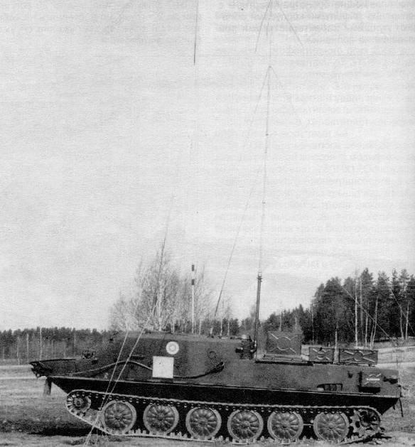 БТР-50ПУ финской армии