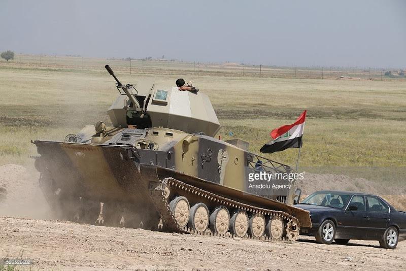 БТР-50ПК иракского шиитского ополчения в Ираке