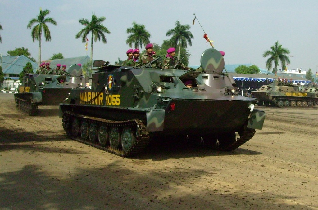 Индонезийский БТР-50