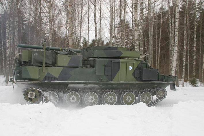 Финский БТР-50