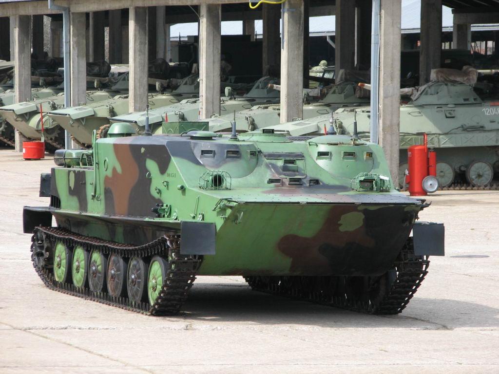 Сербский БТР-50ПУ
