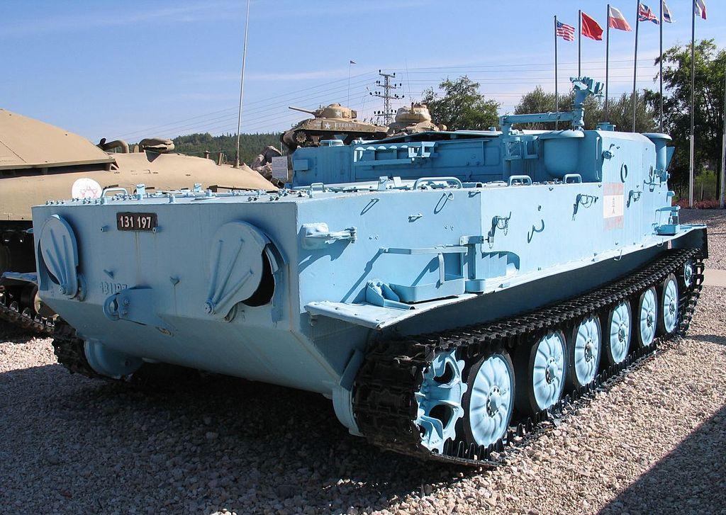 Бронетранспортер БТР-50