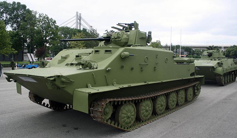 Сербская модернизация БТР-50S