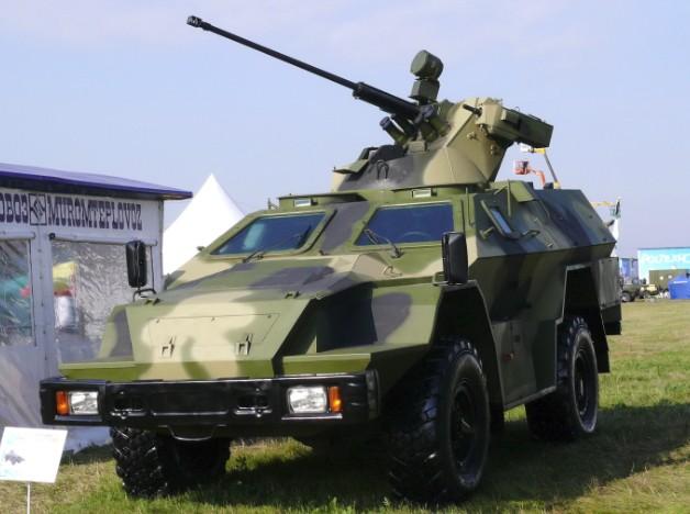 КАМАЗ-43269 Выстрел с БППУ МБ2
