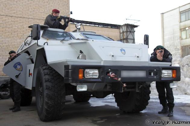 КамАЗ-43269 «Выстрел» (БПМ-97) спецназа МВД