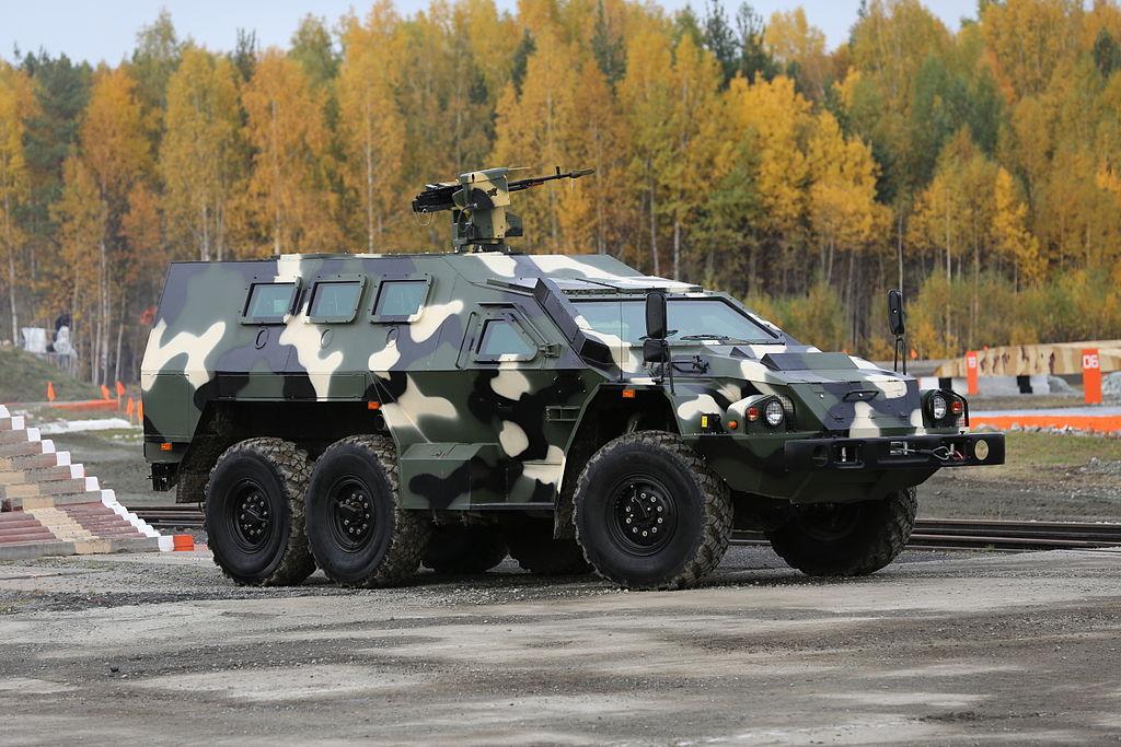 Специальный бронированный автомобиль СБА-60К2 Булат