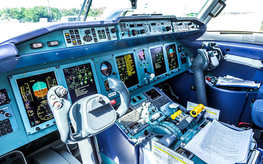 Кабина Ан-148