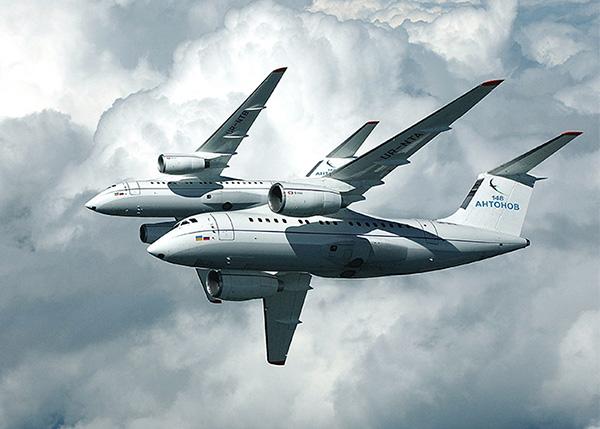Полет Ан-148