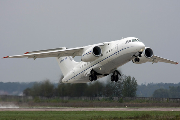 Взлет Ан-148