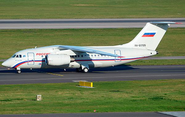 Ан-148-100В авиакомпании 'Россия'