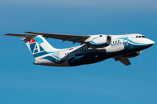 Ан-148-100Е авиакомпании 'Ангара'