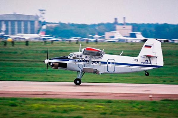 Самолет Ан-3Т фото взлета