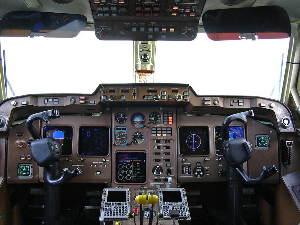 Кабина Ил-114