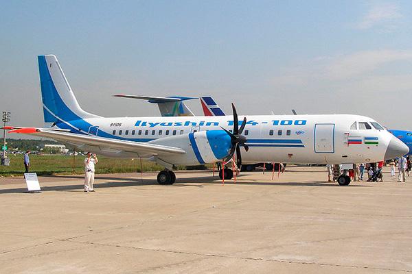 Ил-114-100 — пассажирский самолет