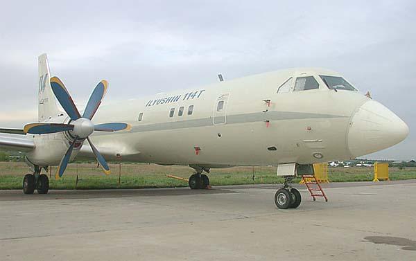 Ил-114Т — транспортный самолет
