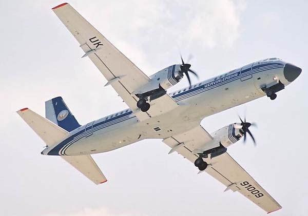 Полет Ил-114
