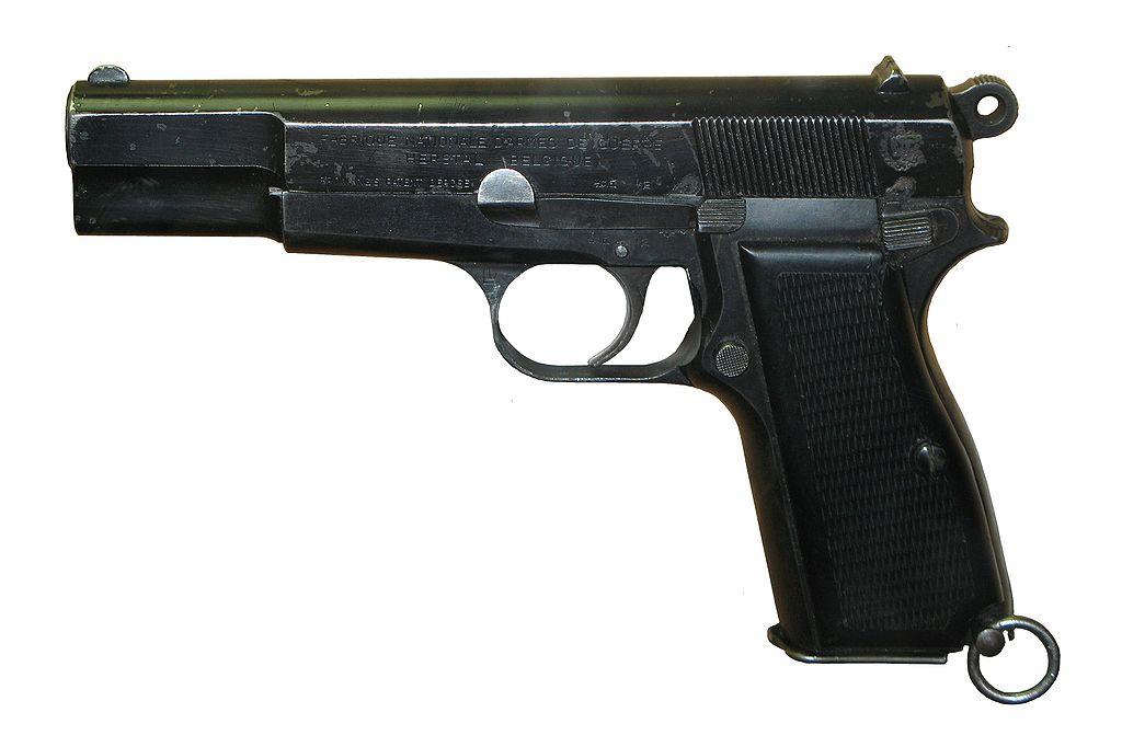 Пистолет GP35 «Браунинг Хай Пауэр» бельгийского производства (model 1935)