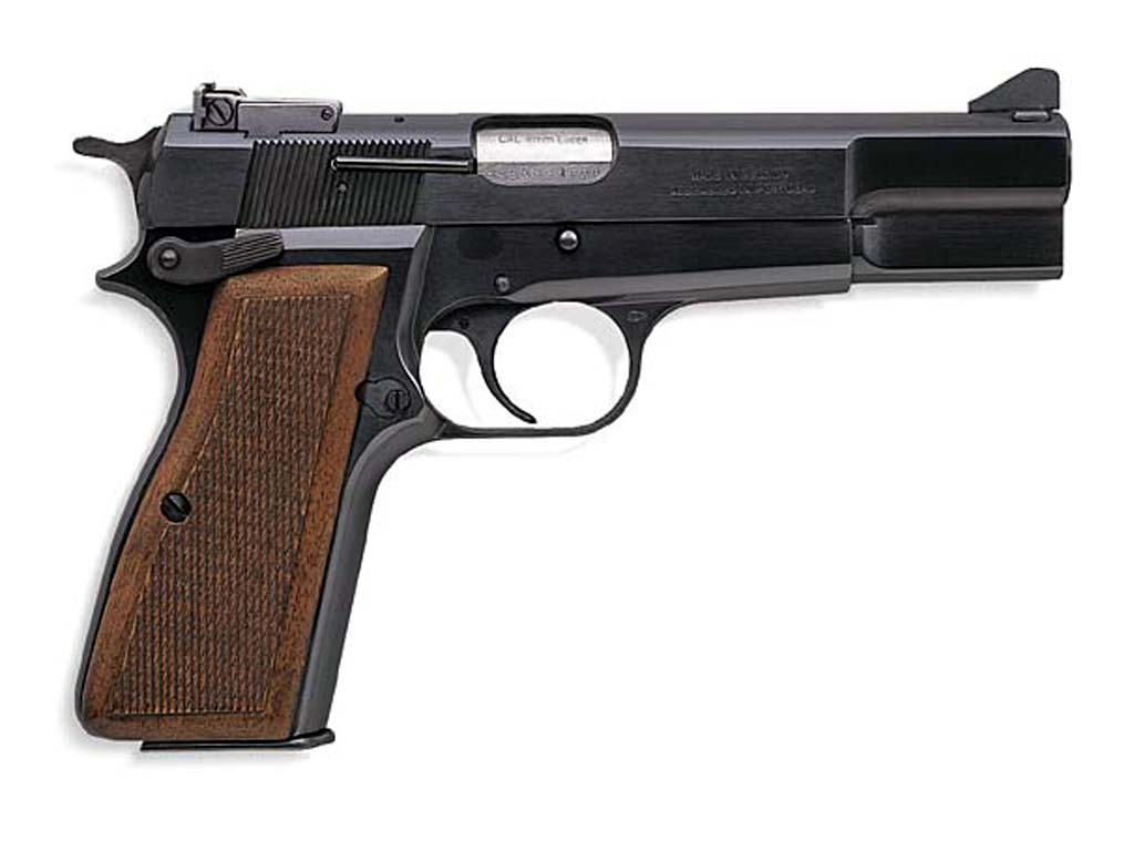 Browning High Power MkIII Standard - совремнный коммерческий вариант.