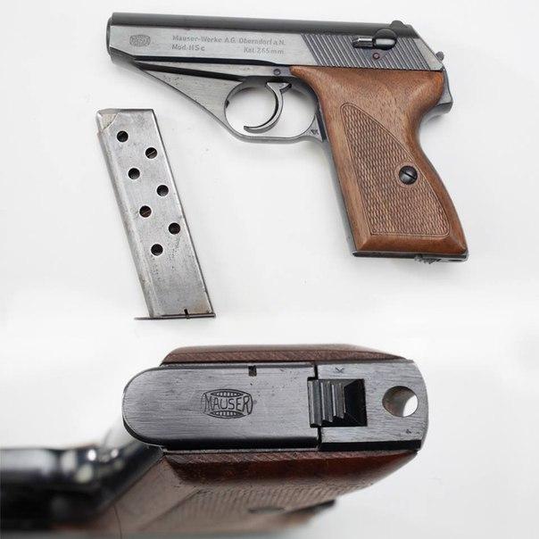 Пистолет Маузер HSc
