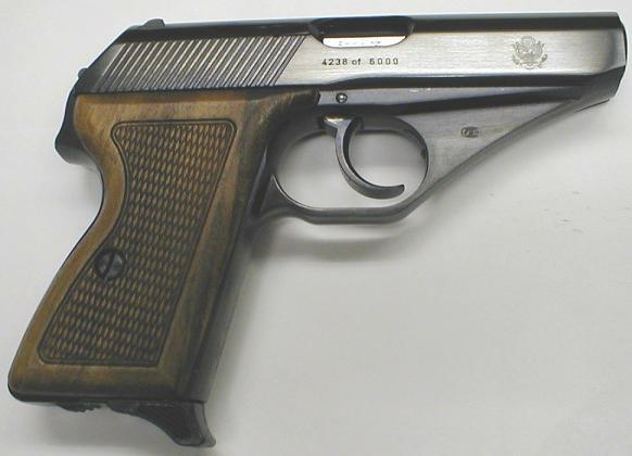 Mauser HSc послевоенного выпуска с американской импортной маркировкой