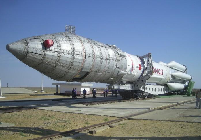 «Протон-М» (УР-500) - ракета-носитель тяжелого класса