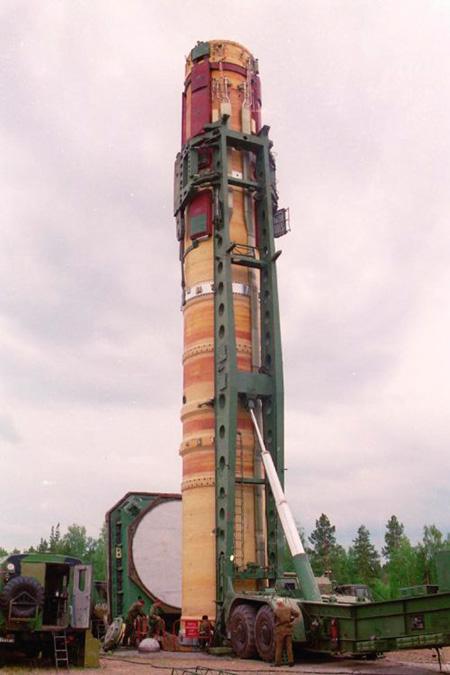 Р-36М (15А14) «Сатана» - межконтинентальная баллистическая ракета