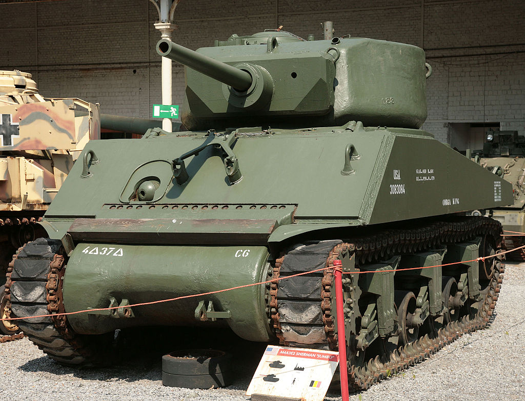 M4A3E2 Sherman Jumbo c 75-мм орудием M3