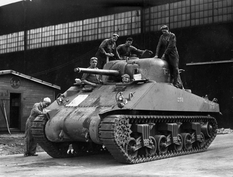 М4 'Шерман' - американский танк