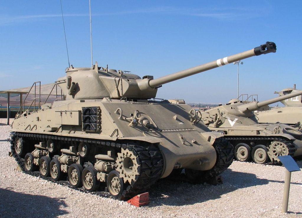 «Шерман» M50 на базе M4A3(75)W HVSS