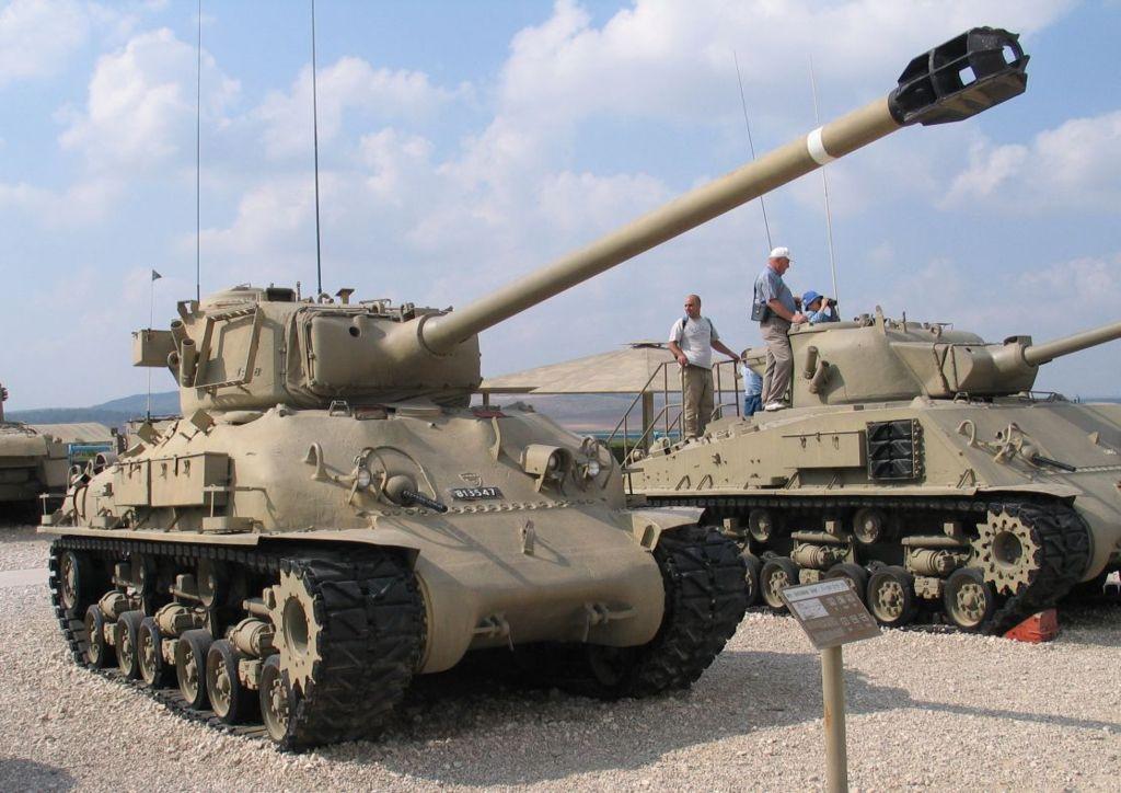 «Шерман» M51 на базе M4A1(76)W HVSS