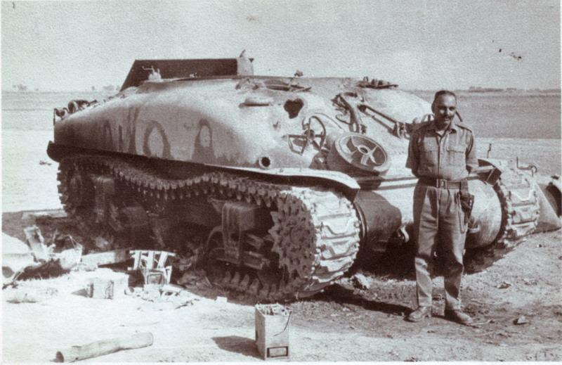 Пакистанский «Шерман», уничтоженный во время Индо-пакистанской войны 1971 года